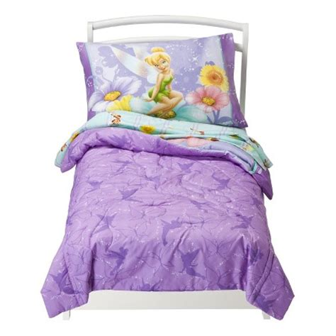 tinkerbell toddler bedding disney 174 tinkerbell 4 piece bedding set toddler target