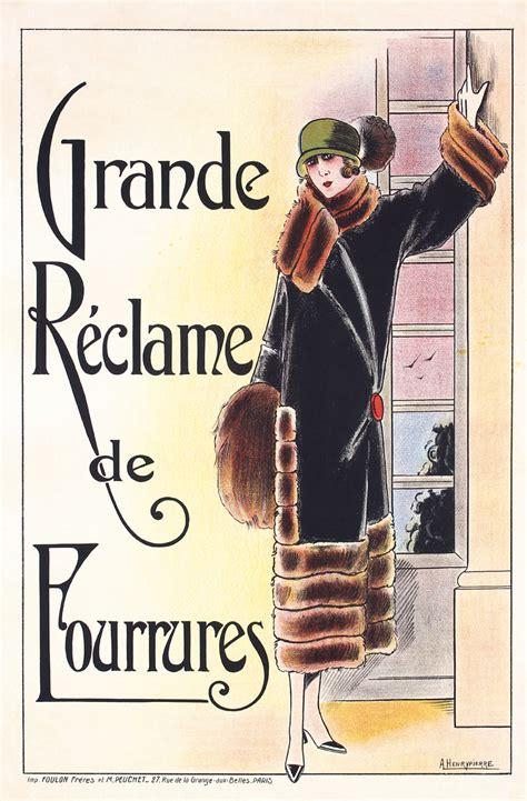 Poster Kayu Vintage Real Kayu 29 original vintage 1920s deco fashion poster