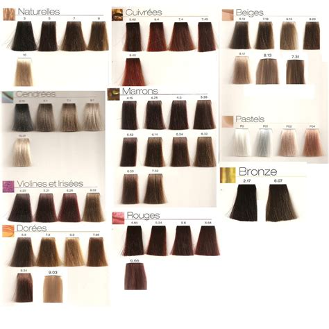L Or 233 Al Professionnel Majirel Majirouge Majilift Permanent Creme Hair Colour Ebay Loreal Richesse Hair Color Chart Loreal Dia Richesse Color Chart Brown Hairs