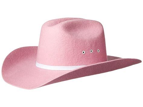Cowboy Hat Pink m f western felt cowboy hat big pink