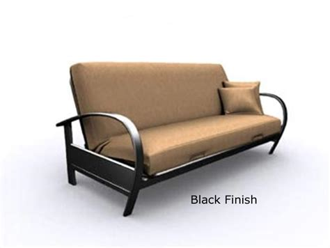 www futons evolution black metal futon frame