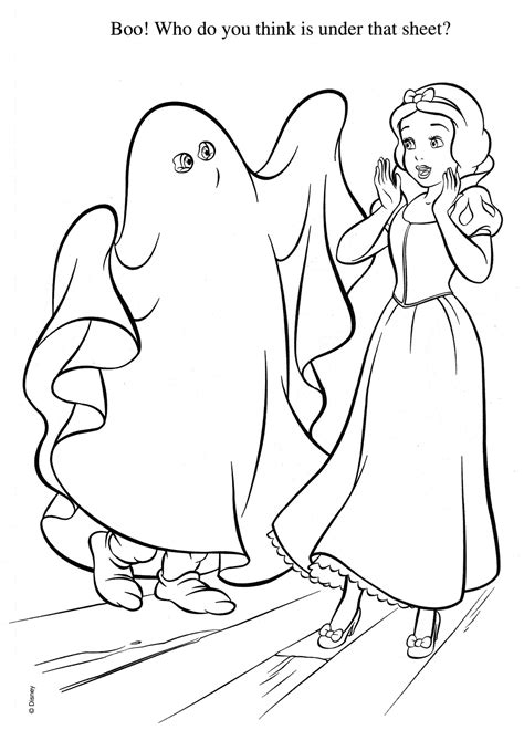 disney princess halloween coloring pages festival