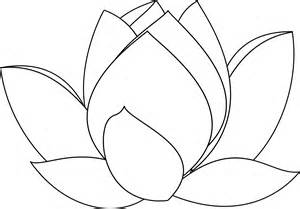 Lotus Flower Line Drawing Lotus Flower Line Drawing Cliparts Co