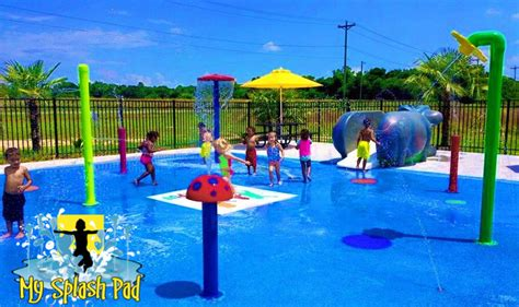 splash pad mini mushroom water play features splash pads water parks safety surfaces