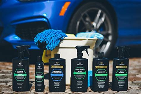 shippingcar wash kit complete detailing supplies  cleaning soap wax tire shine
