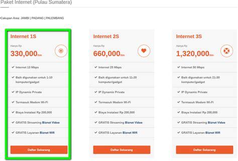 Paket Wifi Media harga paket wifi murah untuk di rumah indihome biznet