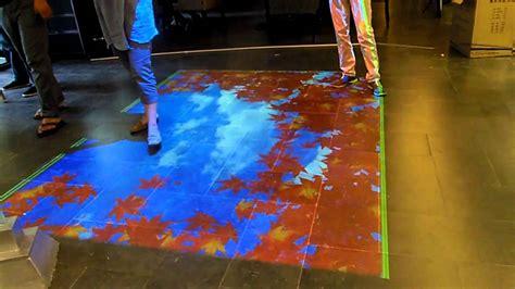 Floor Projector by Interactive Floor Projection