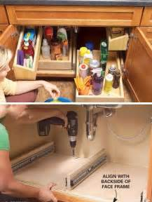 kitchen sink organizing ideas 12 small kitchen storage ideas craftriver