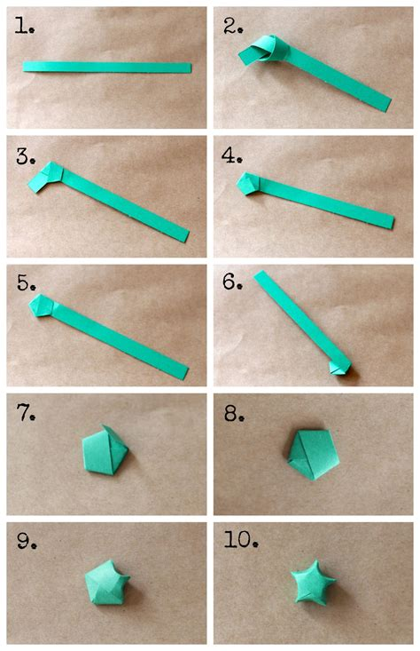 Paper To Make - diy origami garland