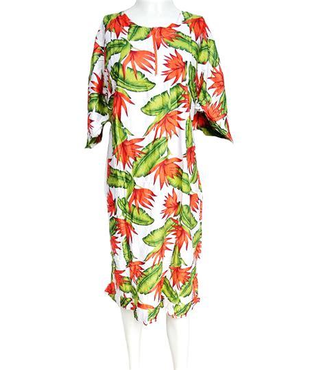 daster lengan panjang motif daun pisang warna hijau toko