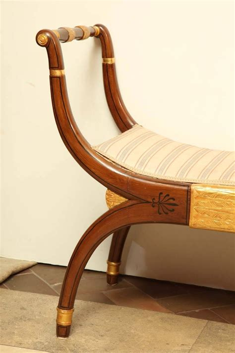 window bench for sale regency curule form window bench for sale at 1stdibs