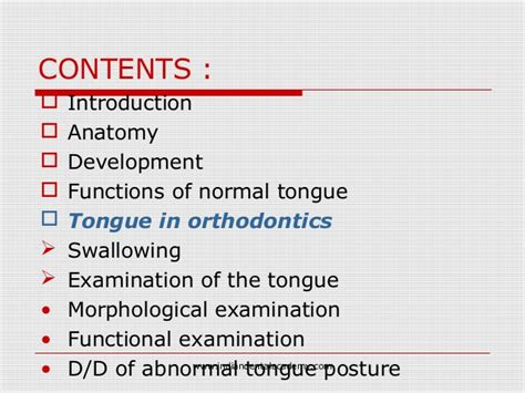 anatomy of the tongue slideshare tongue and its importance in orthodontic treatment