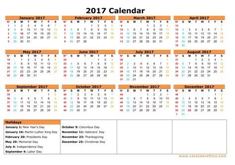 printable 2017 calendar with federal holidays federal holiday calendar 2017 sanjonmotel