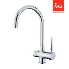 Teka Ls 912 Dual Kitchen Watersmith Heritage Valencia Pull Out Spray Mono Mixer Kitchen Tap Silk Steel Pull Out Kitchen