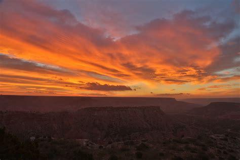 Backyard Wildlife Camera Sunrise Over Palo Duro Canyon Texas Wild