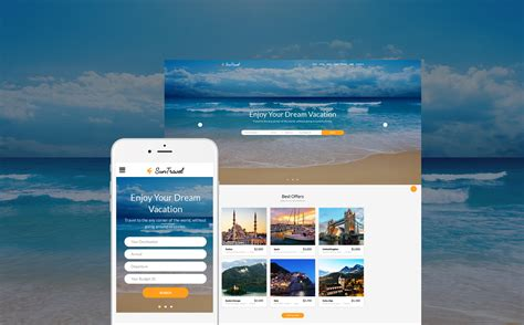 bootstrap themes travel agency sun travel agency travel responsive bootstrap theme with
