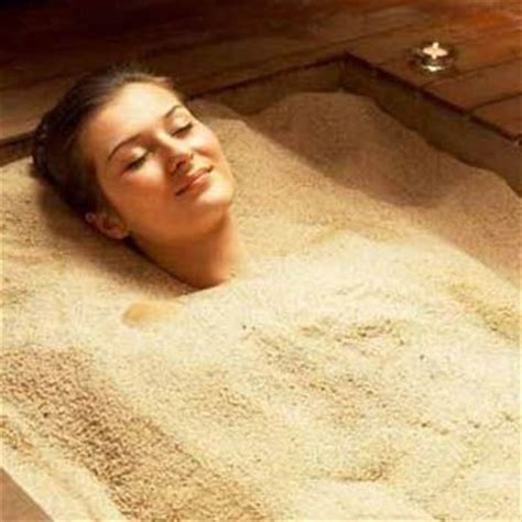 sanding a bathtub hot sand bath fashion central