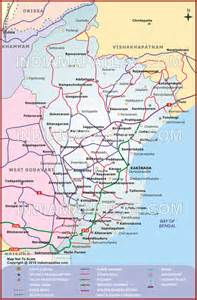 east godavari road map east godavari route map