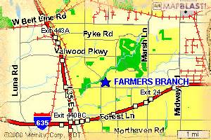 map of farmers branch farmers branch relocation resource a guide to