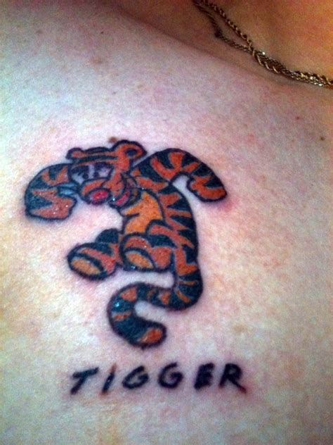tigger tattoo tigger by completeartist on deviantart
