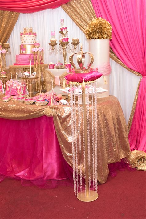 princess theme baby shower decoration ideas kara s ideas royal princess baby shower kara s