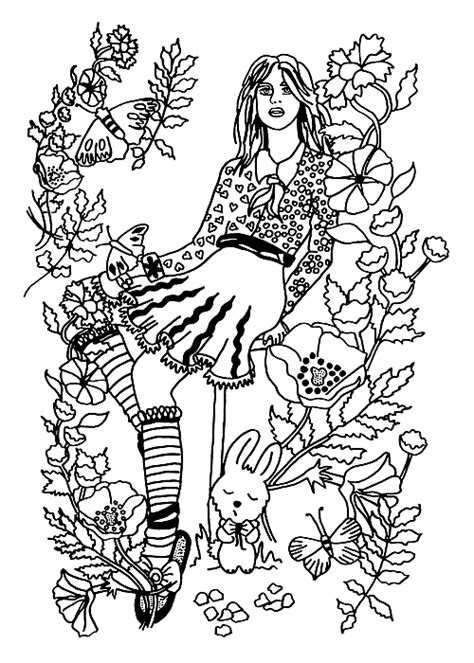 secret garden coloring book page one your secret garden coloring book page by hannah0107 on