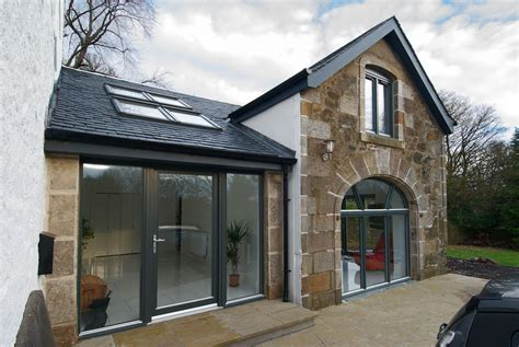 converted house barn conversion house extension kilbarchan
