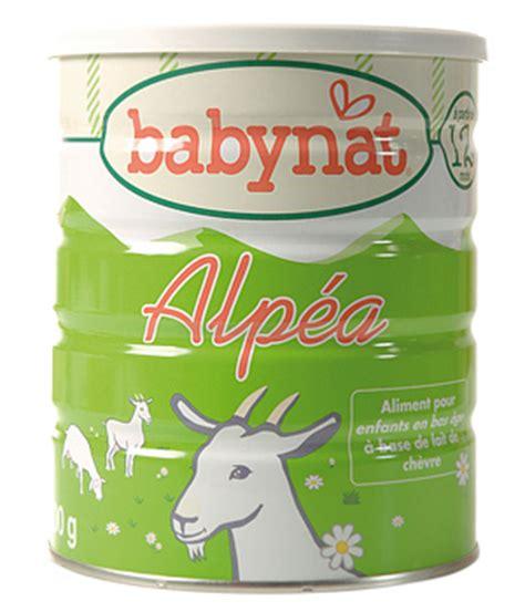 Babynat Goat Milk babynat infant formula based on goat s milk from 12 months