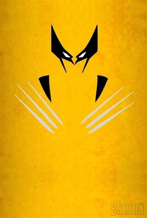 Tshirt Master Logi Animal Ukm wolverine minimalist by braianmaster on deviantart