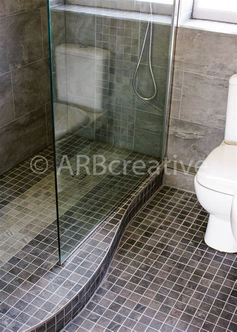 Modern wet room installation