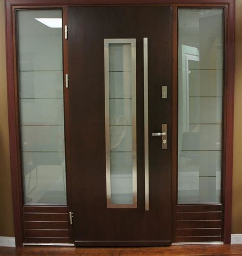 Contemporary Front Doors Modern Exterior Door Model 064 Contemporary Front