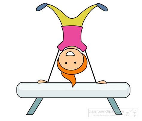 gymnast clip gymnast clipart kid gymnastics pencil and in color