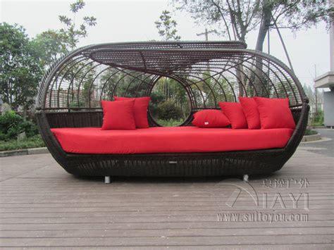 Rattan Daybed Garden Furniture Luxury Outdoor Rattan Daybed With Canopy Outdoor Furniture