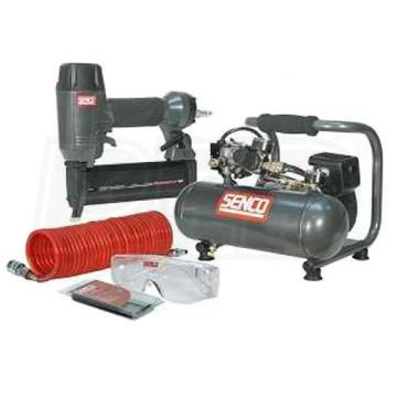 senco pc0947 1 hp 1 gallon air compressor w 18 brad nailer