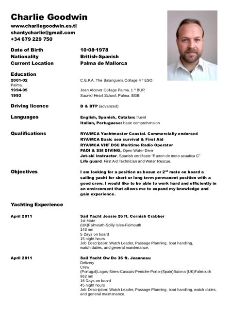 odt resume template rya curriculum odt