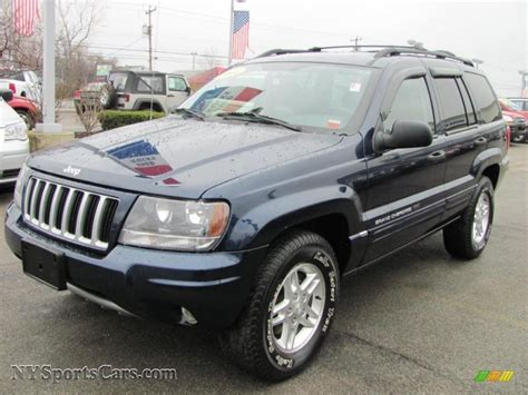 blue jeep grand cherokee 2004 2004 jeep grand cherokee laredo 4x4 in midnight blue pearl
