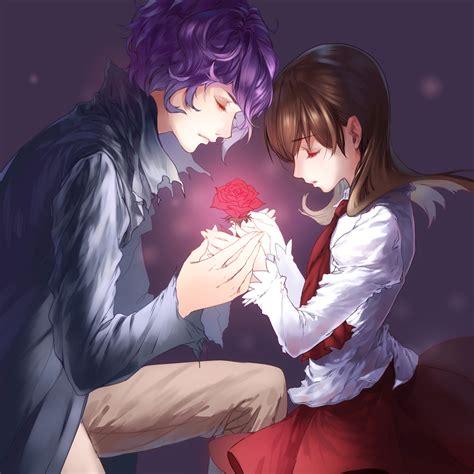 wallpaper of girl and boy together ib image 1113009 zerochan anime image board