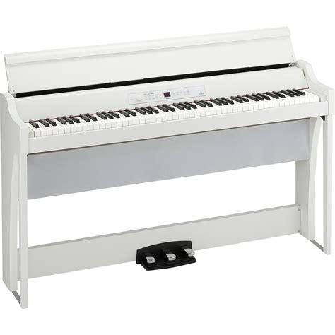 Korg Piano Digital Lp180 Wh White korg g1 air wh e piano wei 223 kaufen bax shop