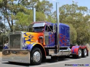 Semi Truck Accessories Store Near Me Ultimatesemitrucks Optimus Prime Peterbilt