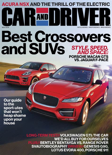 Car Rental Usa Driver Car And Driver Usa November 2016 187 Pdf Magazines Archive