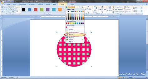 background pattern in word create your own graphics in microsoft word