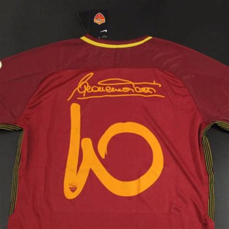 Jersey Bola Stelan As Roma Home 17 18 Grade Ori Set as roma 17 18 home jersey totti 10 special edition tnt soccer shop