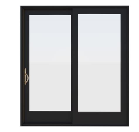Wood French Style Sliding Glass Patio Doors   Essence