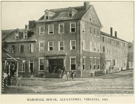 marshall house marshall house alexandria virginia wikipedia