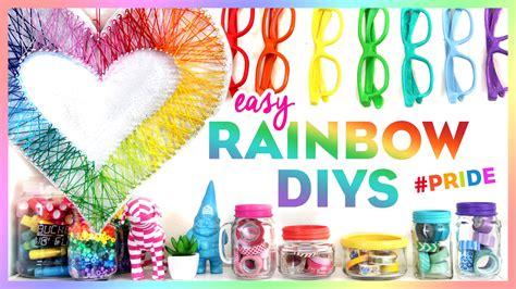 4 Easy Rainbow Diys Pride Bring Color To Your Room
