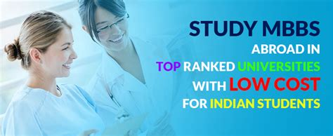 Low Cost Mba In Usa For International Students by Mbbs In Abroad Admission Mci Approved Top Ranked