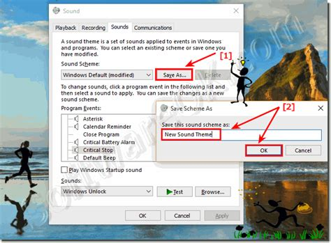 themes for windows 10 with sounds change the windows 10 computer sounds how to