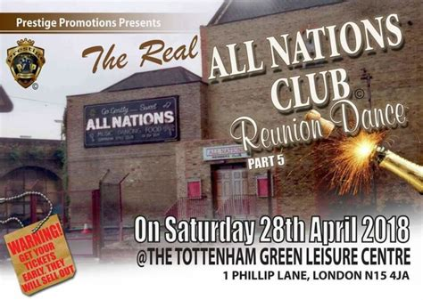 real  nations club reunion dance part  tottenham