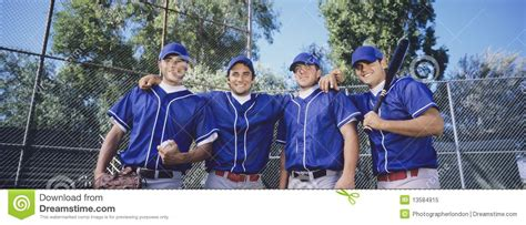 baseball bench coach duties baseball team in numerical order stock photography