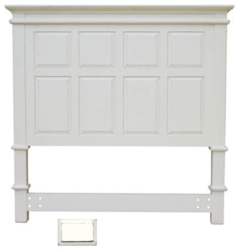 Cottage Style Headboards by Cottage Style Panel Headboard White Country